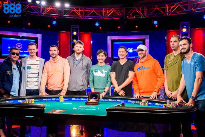 Mesa Final WSOP 2019 Main Event