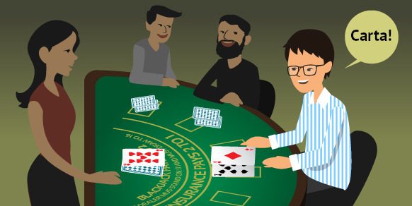 Blackjack y Poker: pedir carta en blackjack