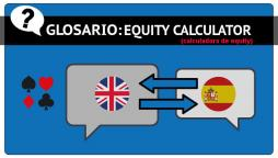 Equity Calculator o calculadora de equity