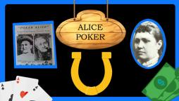 Sobre de Alice Poker