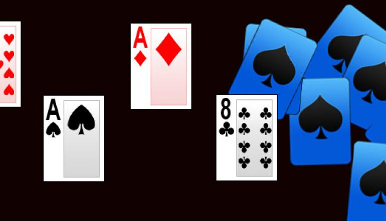 Las cartas de poker