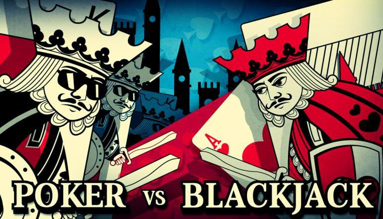 Blackjack vs Poker