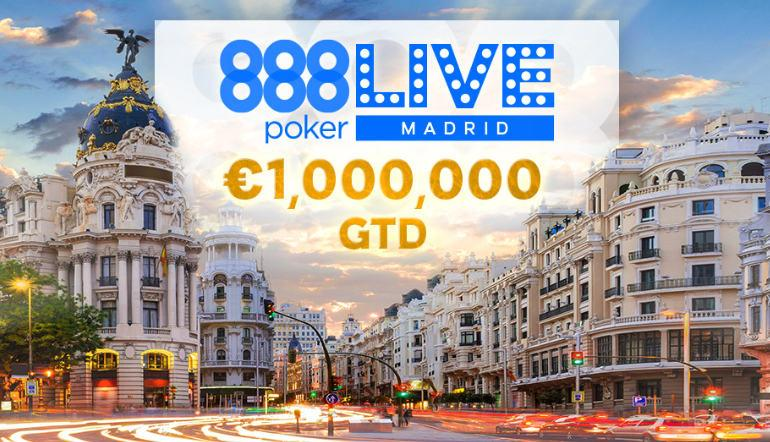 888poker Live Madrid 2020