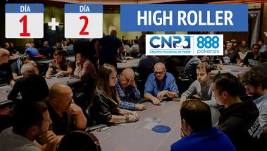 Resumen del Evento High Roller del CNP 888 Madrid